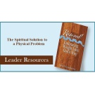 Restored! - Leader Resources--SENT BY EMAIL